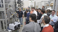 Industry Tour of TWI (TWI Ltd) Tags: robot events laser fracture microscope fatigue symposium surfacing electronbeam structuralintegrity friction ndt scanningelectronmicroscopy nondestructivetesting conditionmonitoring frictionstirwelding coldspray additivemanufacturing linearfrictionwelding surfisculpt laseradditivemanufacture chaintesting fullmatrixcapture surfaceengineering refillfrictionstirspotwelding highvelocityoxyfuelspraying highratetensiletesting