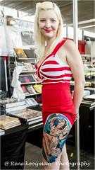 Tattoo Girls... (Rene kooijman photografie) Tags: ladies girls holland color art amsterdam tattoo canon paint convention rai finearts kleuren tattooer renekooijman