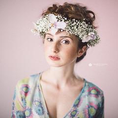 Ilenia (Lo_straniero) Tags: photographer fiori ritratto fotografo floralportrait younesstaouil