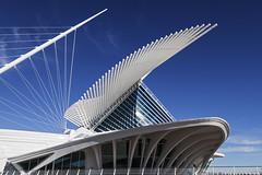 Flapp up (GER.LA - PHOTO WORKS) Tags: museum wisconsin architecture calatrava milwaukeeartmuseum milwaukee