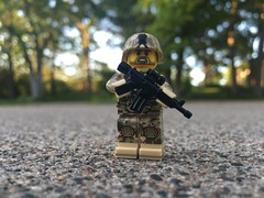 I donut kno (CharlieCompanyProductions) Tags: citizenbrick outdoor focus photography cod militarylego military modernmilitary modern brickarms lego