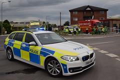 DSC_3100 (matthewleggott) Tags: rescue water fire industrial estate smoke yorkshire flames engine police ambulance hose service pocklington humberside applaince