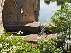 Detail on Lock gate (JP Newell) Tags: bridge river canal lock cahors midipyrnesregion