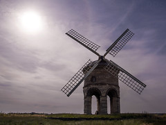 Chesterton01c (AlanOrganLRPS) Tags: windmill landscape chesterton donquixote warwickshire intothesun