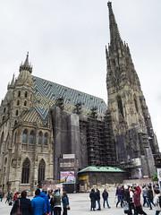 Stephansdom - Wenen Vienna (Rita Willaert) Tags: vienna wien oostenrijk cathedral stephansdom wenen gotisch symbool at katholiekekathedraal