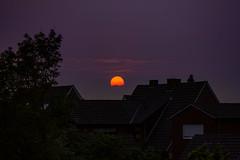 Sunset in Darfeld (betadecay2000) Tags: sunset sky sun sol set germany deutschland abend sonnenuntergang himmel sonne duitsland abendrot rosendahl niemcy darfeld rosendahldarfeld