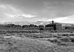 Bodie Schoolhouse (KeithJ) Tags: california blackandwhite monochrome clouds outdoors ghosttown bodie schoolhouse oldwest easternsierra statehistoricpark
