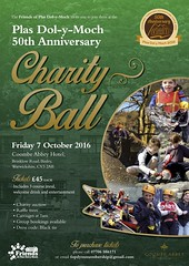 Plas Dol-y-Moch Charity Ball Poster (Coventry City Council) Tags: plasdolymoch charityball friendsofplasdolymoch poster coombeabbey