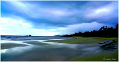 The Beach III (lukiassaikul) Tags: travelphotography holiday seaside resort landscape seascape sea sky water beach photopainting digitalpainting kohchang elephantisland trat thailand
