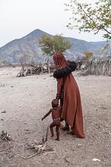 Mother and Child 3917 (Ursula in Aus - Away) Tags: africa himba namibia otjomazeva environmentalportrait