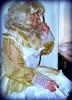 Primping (jensatin4242) Tags: chiffon sissy transvestite taffeta crossdresser frilly jensatin
