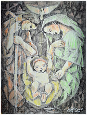 PINOY HOLY FAMILY (PeteVELASQUEZ Gallery) Tags: christmas pinoy holyfamily angelus birthofjesus pinoyfamily familypraying