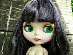 River, green eyes