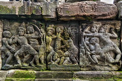 Carvings of Prambanan Hindu Temple (Infinite Legends) Tags: world building architecture canon indonesia wonder landscape temple eos volcano ancient asia drawing south carving east southeast yogyakarta hindu hdr carvings merapi prambanan archaelogy 70d