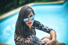 Elodie : Portrait : Nikkor 50 mm F1.4D (Benjamin Ballande) Tags: portrait mm nikkor 50 elodie f14d