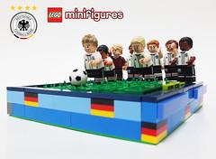 LEGO CMF DFB (Umm, Who?) Tags: lego football soccer germany muller kramer ozil lowe friends awesome euro 2016