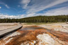 Upper Geyser Basin (i am pam photos) Tags: yellowstone national park upper geyser basin old faithful inn
