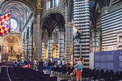 Siena - Cathedral Nave Looking to South Aisle (Le Monde1) Tags: city horses italy nikon cathedral unesco worldheritagesite nave rivers tuscany siena stmary elsa palio pilgrims piazzadelduomo d610 arbia santamariaassunta merse viafrancigena southaisle lemonde1