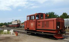 Z4p 264, Västervik 2009-07-18 (Michael Erhardsson) Tags: diesel juli 2009 sommar diesellok västervik järnväg lokomotor 891mm smalspår z4p 20090718