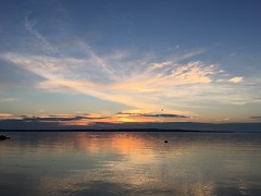 Another lovely sunset on Sunset Beach (Georgian Bay Dreamer) Tags: sunset water clouds