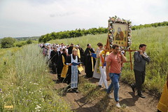 A cross procession from the village of Nikolskoe to the village of Adamovka / Крестный ход из Никольского в Адамовку (31)