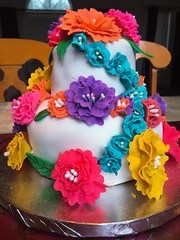 (Phxgirl) Tags: flowers cakes fondant gumpaste