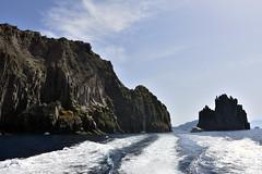 Eolie40 (Pepe_chan) Tags: trip travel blue sea summer italy island volcano nikon italia estate sicily sicilia vulcano eolie stromboli