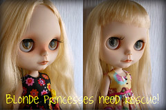 Blonde Princesses Need Rescue!! (Muffinda) Tags: eve ooak fair mama blonde blythe custom angelica maiden fa matryoshka ane musidora rbl muffinda