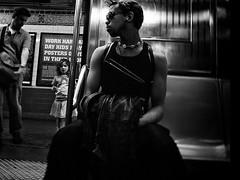 your chariot awaits (je ne suis pas) Tags: blackandwhite bw newyork apple station subway noiretblanc metro explore grdigital ricoh grd2 grdigital2 grdigitalii grdii