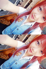 SKYLER'S (32) (LEECHINHWA l skyler) Tags: red cute girl beautiful hair doll pretty mask sweet russia gray korea korean lee kawaii spike uzbekistan chin skyler hwa pika lenses taki takumi bestface chinhwa ulzzang uljjang ohljjang leechinhwa