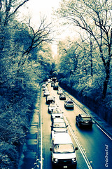 Traffic (paolopaolino) Tags: newyork traffic centralpark manhattan