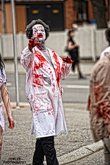 Zombies of Kuopio (skullbone76) Tags: finland death helsinki cosplay makeup horror movies macabre zombies scandinavia vikings kuopio specialeffects nightofthelivingdead horrormovies
