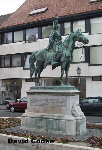 ED3881 Statue of Andras Hadik @ Buda Old Town 14.5.13