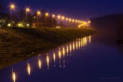 Kej (pexart foto) Tags: sunset nature night river landscape priroda reka pejza