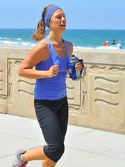 woman female jogging jogger