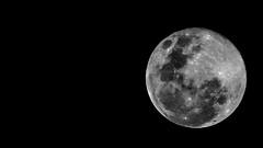 Super Moon (@mist3ry30) Tags: moon night canon noflash lunar celestial