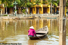 _DSC7016.jpg (womofa) Tags: world old travel woman house lake reflection heritage history tourism water corner port river asian harbor boat fishing fisherman dock ancient asia vietnamese riverside traditional crowd culture landmark tourist palm unesco vietnam hoian exotic rowing rowboat typical fishingboat past vacations channel indochina antiquities ancienttown ancienthouse conicalhat culturallife