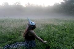 If I Were to Dream (Alyssa Meredith) Tags: new ballet white black nature girl fashion tim woods dress mask hampshire creepy venetian burton