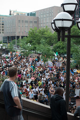 Minneapolis responds to the George Zimmerman verdict (Fibonacci Blue) Tags: county plaza people minnesota justice george martin crowd minneapolis government shooting zimmerman legal hennepin verdict trayvon justicefortrayvon justice4trayvon hoodiesupmn