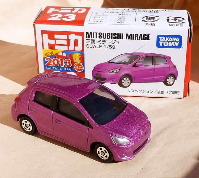 toycars autitos diecast tomica mitsubishimirage トミカ tomicaトミカ