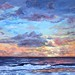 "Just before Sunrise (Port Everglades) - 24"" x 36"" - Oil - (Sold)"