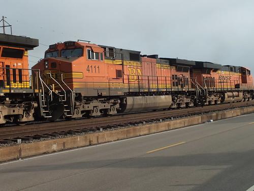 BNSF 4111 7/22/2013