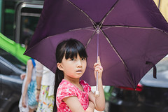 The glance (Taipei street life) Tags: life city portrait holiday face canon photography eyes photos expression snapshot taiwan taipei 台灣 6d 台北市 taipeicounty 中山區
