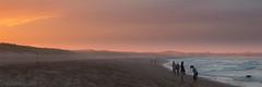 Beach at Seaton Sluice (Mark Illingworth) Tags: sunset sea sky color colour beach coast sand northumberland northsea seatonsluice