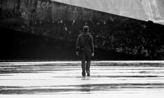 normandy 8 (ondey) Tags: world ocean 2 bw white black france beach cemetery death coast memorial war d den h overlord beaches second soldiers omaha normandie normandy dday invasion francie pontoons pontoon ponton smrt památník čb hřbitov pláž kříže hodina černobílá válka černobílé invaze hhour pobřeží vojáci světová pontony