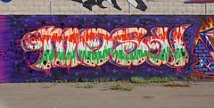 Mosn (See El Photo) Tags: california ca street city urban 15fav favorite orange streetart colour green art cali wall canon concrete outside outdoors eos rebel graffiti la losangeles wire weeds alley colorful downtown colore purple bright grafiti vibrant stripes graf bricks letters vivid urbanart barbedwire spraypaint fav lettering graff multicolored couleur razorwire grafite faved  500d    mosn t1i