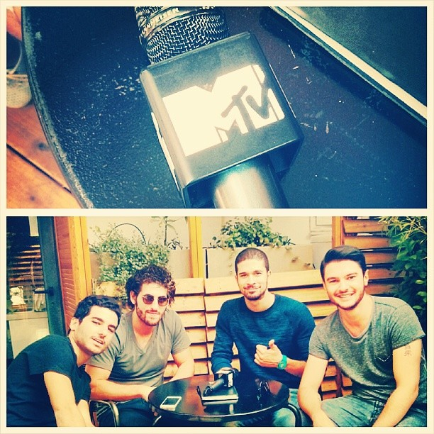 Sneak peek of the interview for MTV with my bros Jidax!