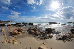Pulsano, Puglia, Italy (mrfrison) Tags: sky clouds mare fisheye puglia pulsano flickrelite vision:beach=092