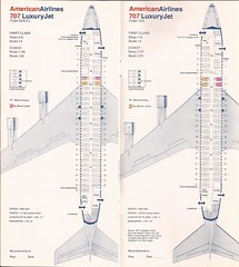 AAseatsJAN79 06 (By Air, Land and Sea) Tags: aa americanairlines aircraft airplane seats diagram seatingdiagrams airline seatingcharts