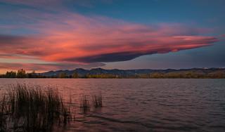 Cloudstream at dawn